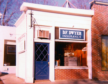D.F. Dwyer Insurance first office, 59 Bellevue Avenue, Newport, RI