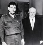 "Nikita Krushchev with Ernesto ""Che"" Guevara"