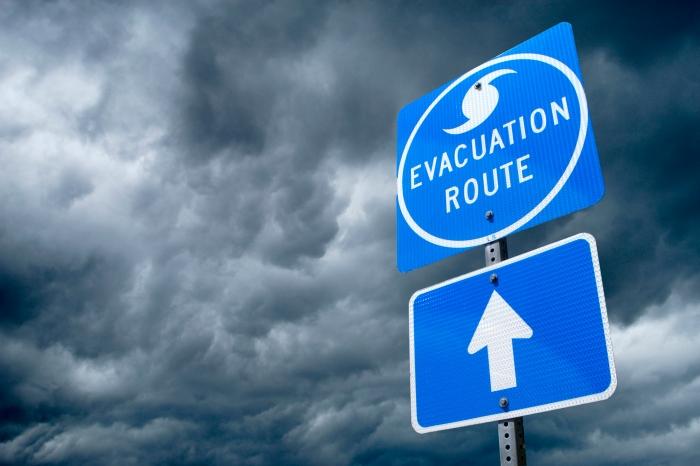 Storm Evacuation Planning
