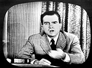 Vice Presidential nominee Richard Nixon