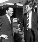 Frank Sinatra and John F. Kennedy, 1962