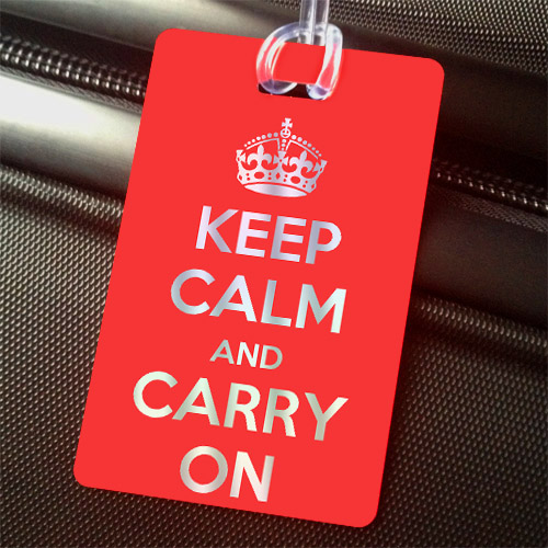 Travel Tip Keep Calm & Carry On