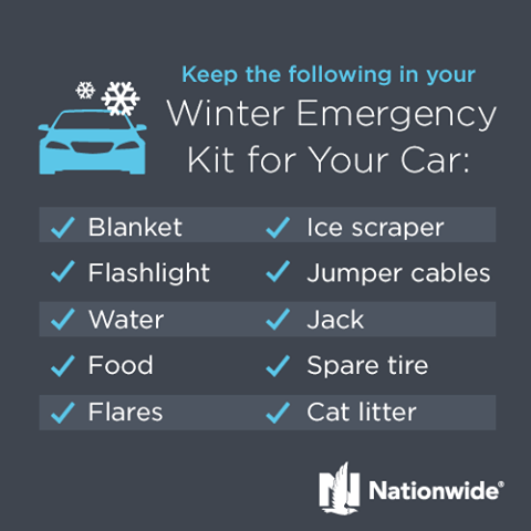 Winter Emergency Kit - Nationwide