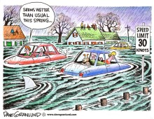 Spring Thaw Flood