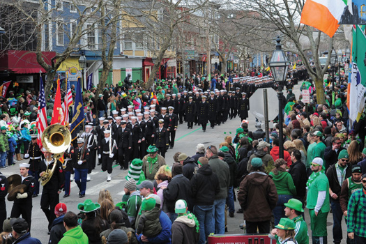 D.F. Dwyer Insures Newport's Annual St. Patrick's Day Parade