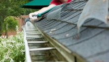 Cleaning Your Gutters Prevents Water Damage to Your Home.
