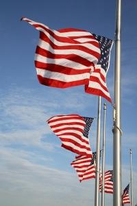 Flying Flag at Half Staff