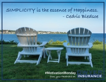 Simplicity is the essence of Happiness. - Cedric Bledsoe