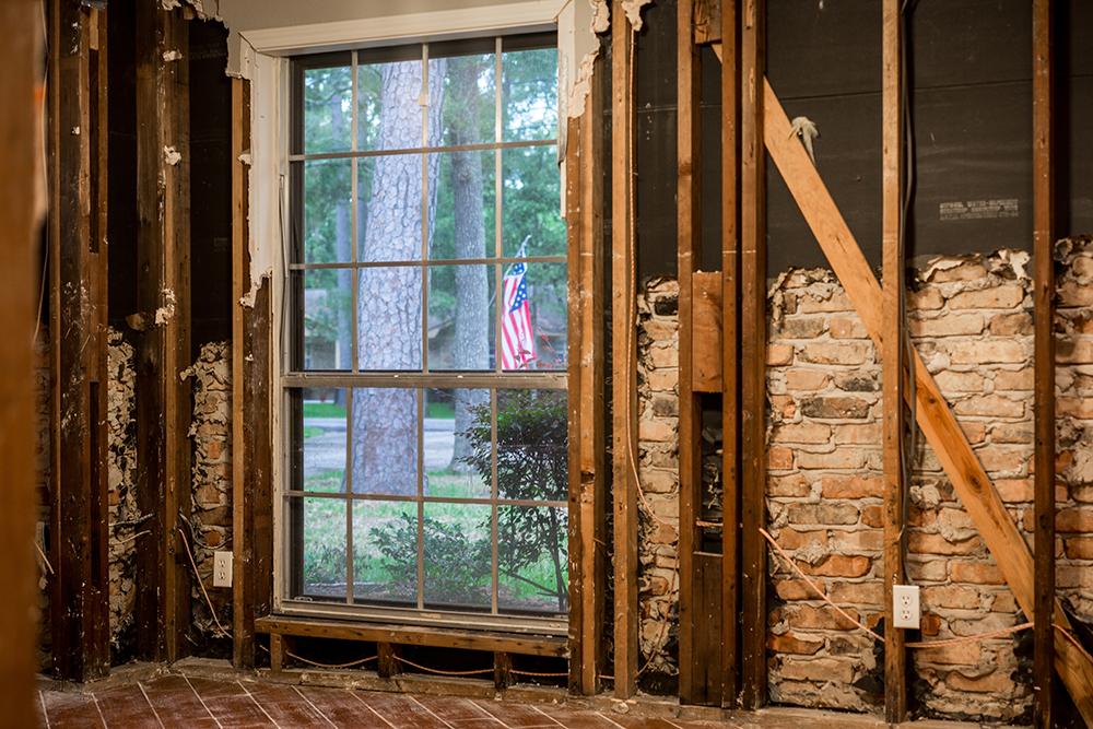 Rebuilding older home