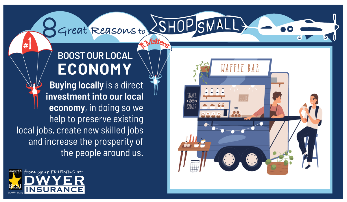Think Big, Shop Small to Boost Our Local Economy